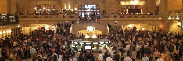 GCT on a Friday PM Rush
